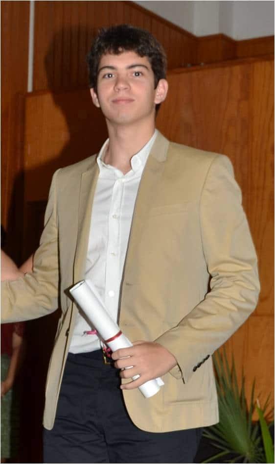IES Luis Cobiella Cuevas. Premio Extraordinario Bachillerato 2014