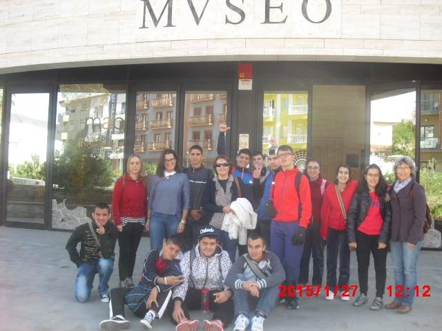 IES Luis Cobiella Cuevas. Visita Museo Benahorita