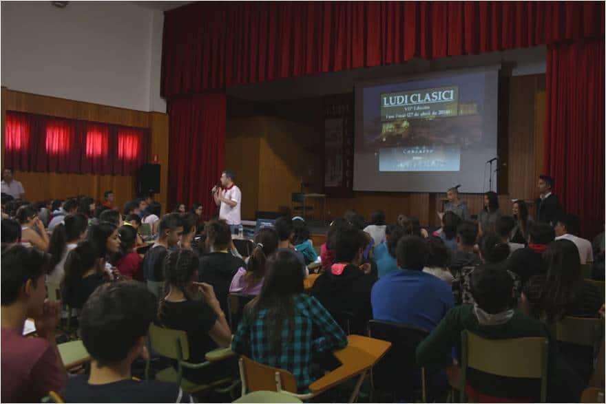 Francisco Camacho explica las características de la Final de la VIIª Edición de los Ludi Clasici, tras unas emocionantes semifinales.