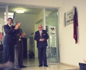 Inauguración del IES por D. Luis Cobiella Cuevas (1994)